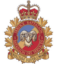 1 Service Battalion Badge