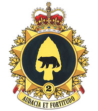 2 Canadian Mechanized Brigade Group Badge