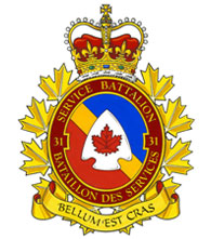 Badge of 31 Service Battalion