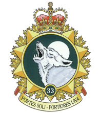 33 Canadian Brigade Group Badge