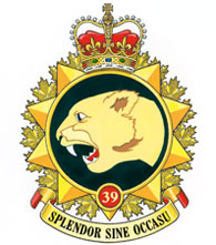 39 Canadian Brigade Group Badge