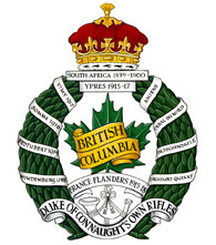 The British Columbia Regiment (Duke of Connaught's Own) badge