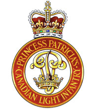 Princess Patricia's Canadian Light Infantry Badge