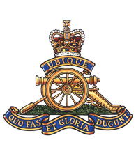 Royal Canadian Artillery badge