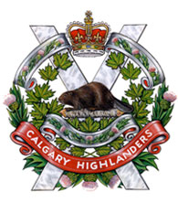 Calgary Highlanders Badge