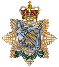 The Irish Regiment of Canada crest