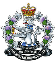 The Lorne Scots crest