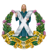 Queen's Own Cameron Highlanders of Canada | 38 CBG Reserve Infantry