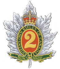 The Queen's Own Rifles crest