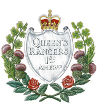 The Queen's York Rangers crest
