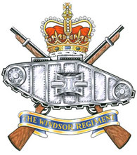 Insigne du Windsor Regiment