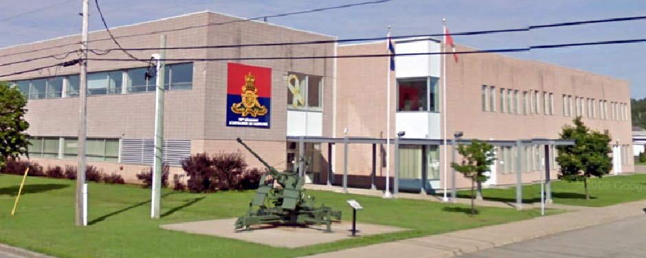 62nd Field Artillery Regiment building