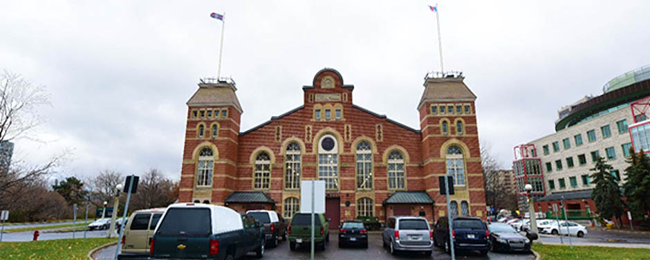 Cartier Square Drill Hall