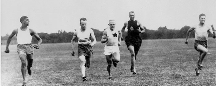 "John ""Army"" Howard races the top American sprinters"