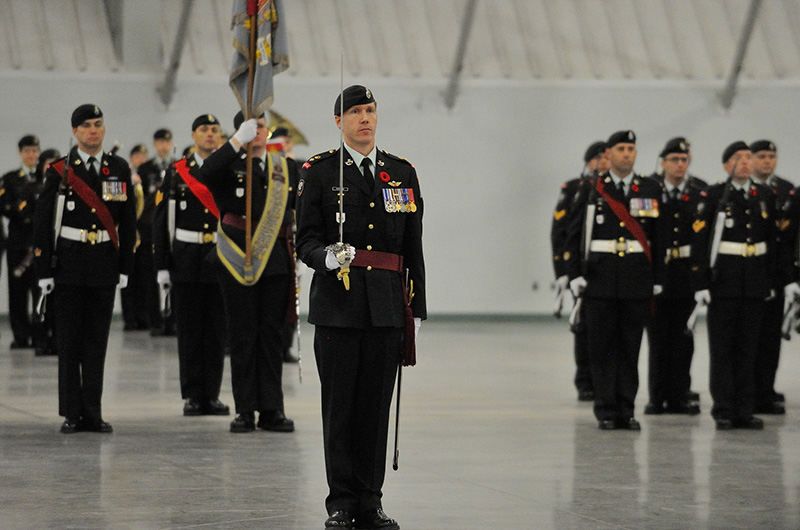 1st Battalion, Princess Patricia's Canadian Light Infantry on parade