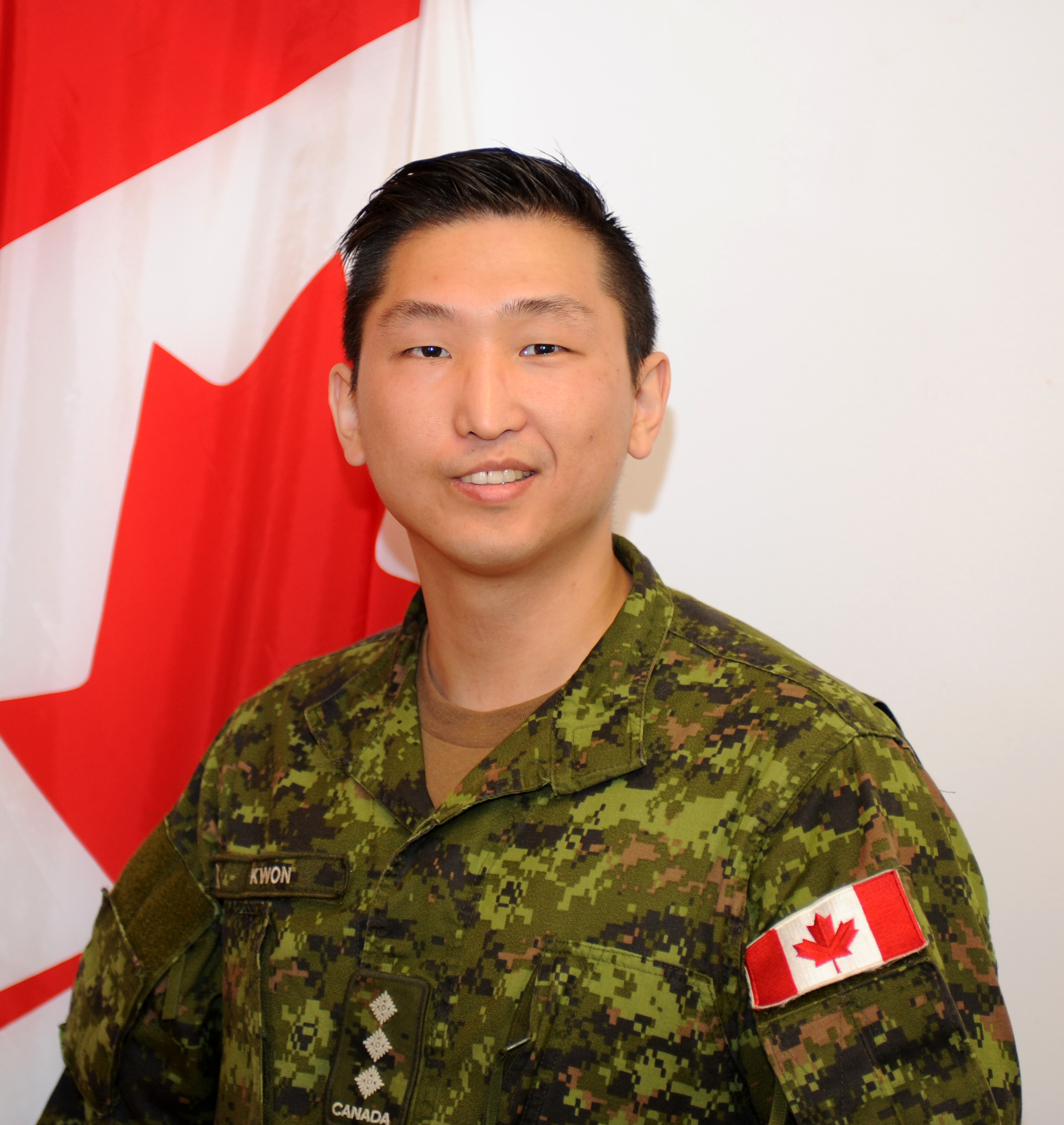 Captain Suhan Kwon. Photo by: Capt M. O'Leary, Public Affairs, 31 CBG ©DND/MDN 2016