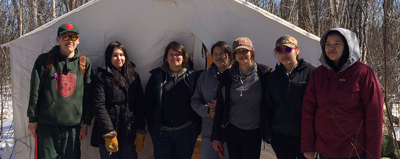 slide - 3 Canadian Ranger Patrol Group facilitate activities for community youth and Junior Canadian Rangers in Attawapiskat, Ontario during a two-week Spring Break which started on Monday April 18th, 2016 to enhance traditional, community, and outdoor-related skills.