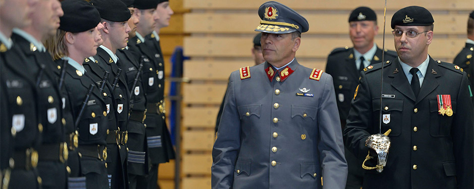 Slide - General Humberto Oviedo Arriagada of the Chilean Army