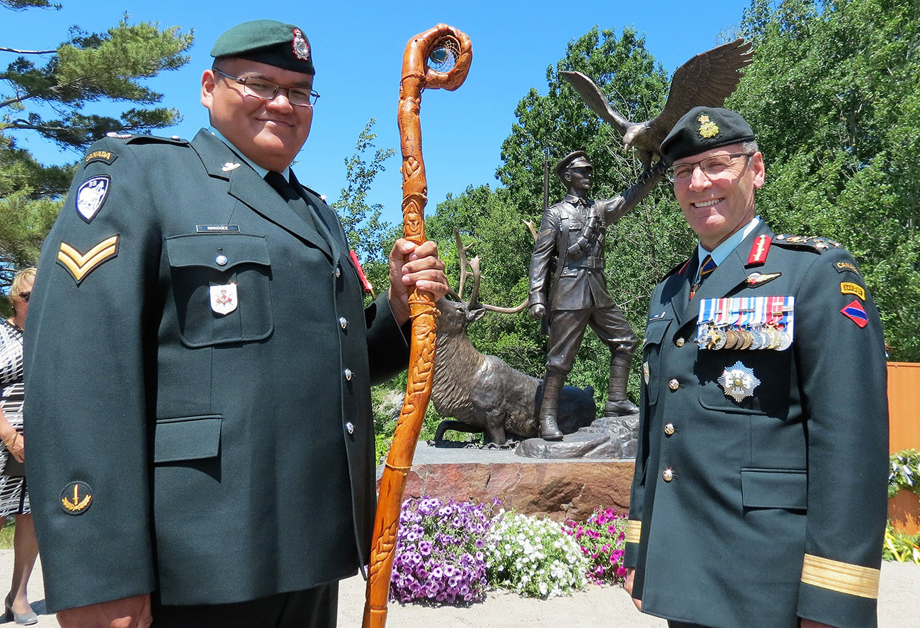 Article Statue Unveiled Of First World War Hero Company Sergeant