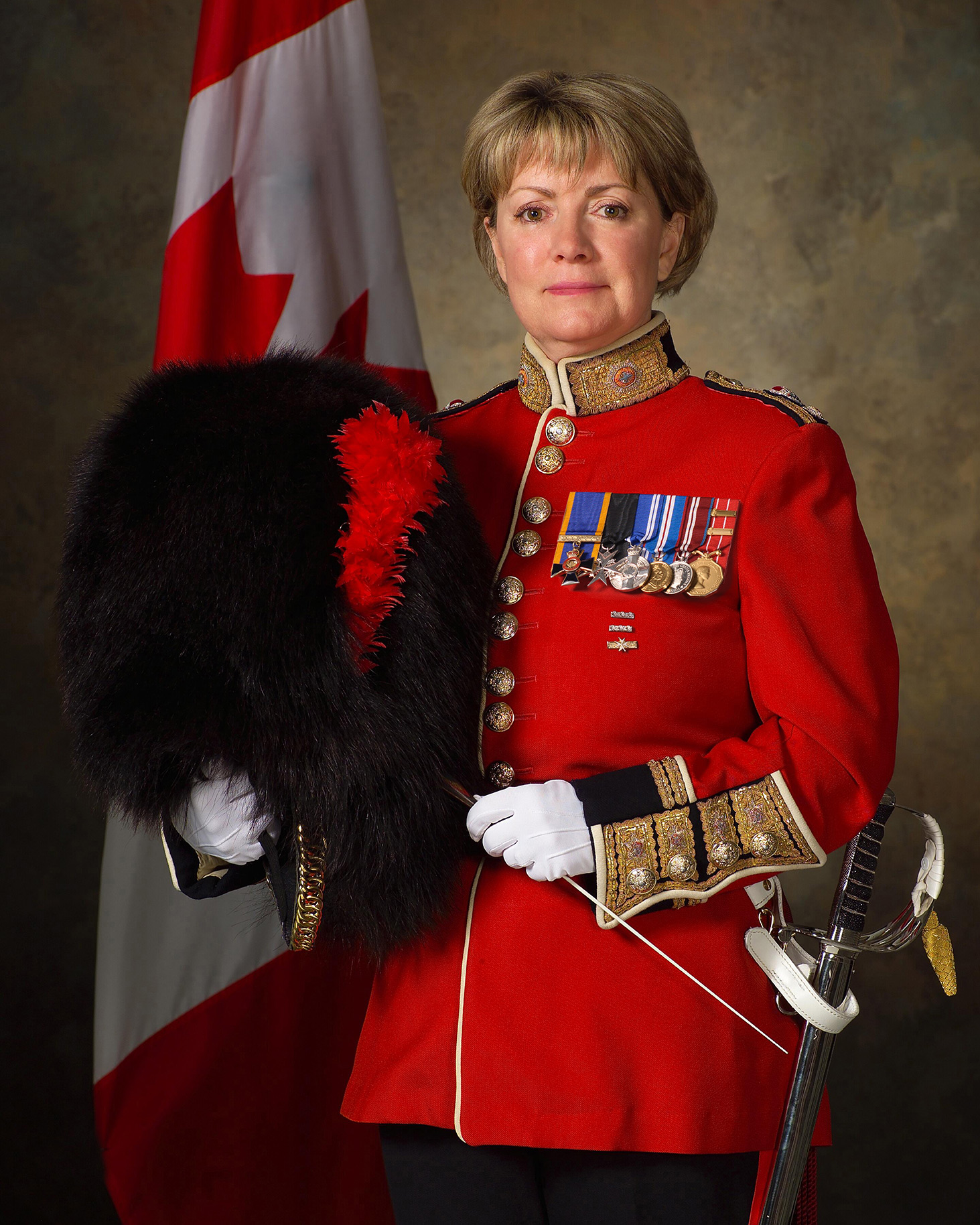 The governor general s foot guards - Governor General S Foot Guards Band S First Female Director Of Music Retires Lieutenant Colonel Frances Chilton Mackay