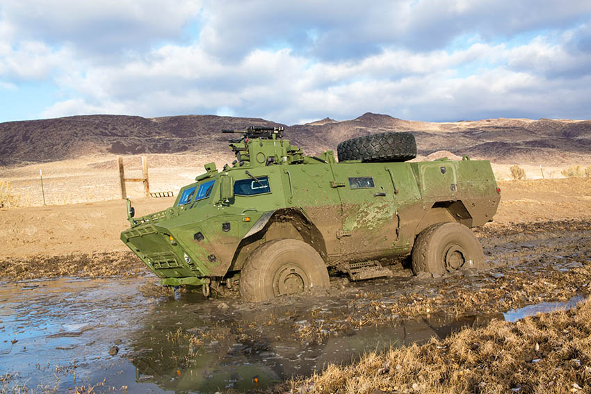 Tactical Armoured Patrol Vehicle