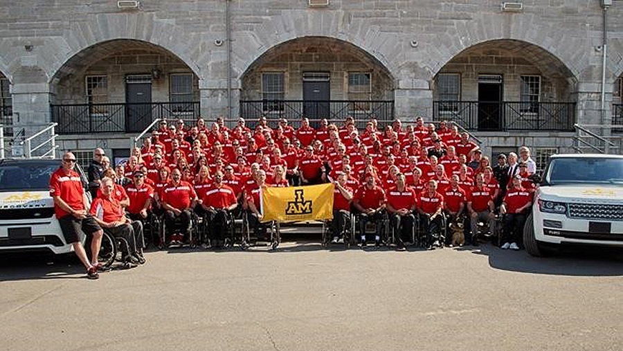 Team Canada at the Invictus Games – Toronto 2017. ©2017 DND/MDN.