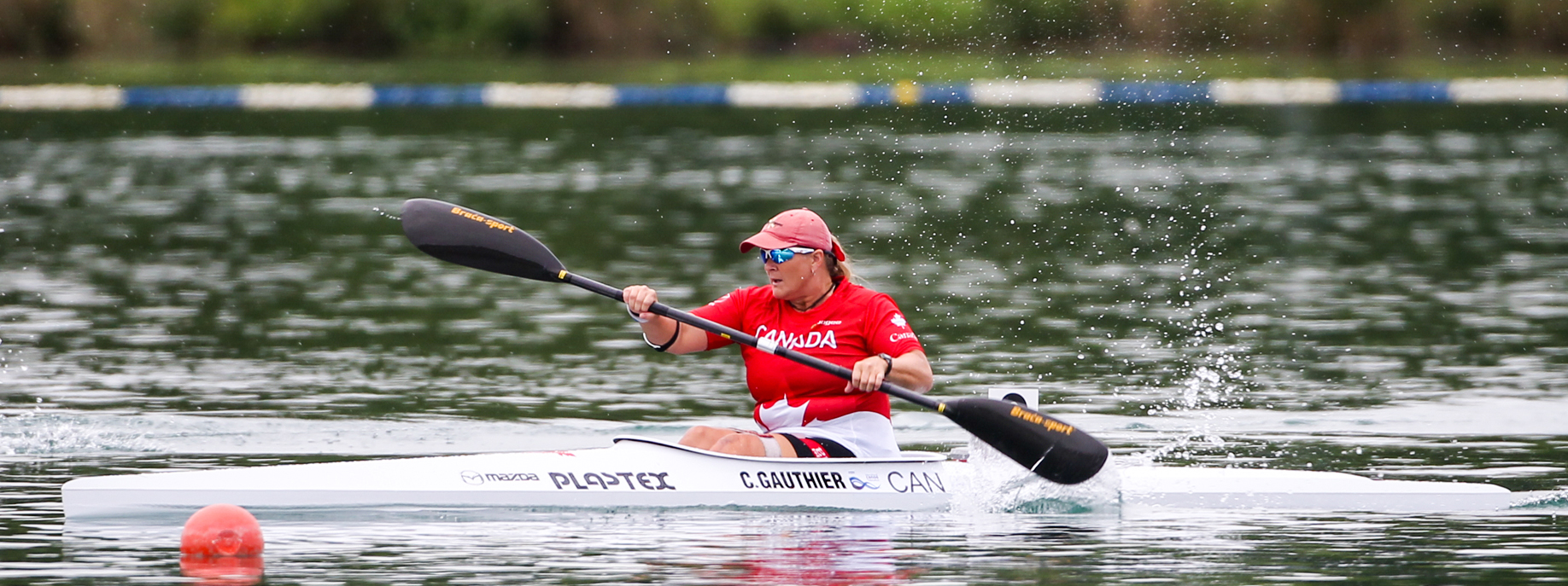 Bombardier (Retired) Christine Gauthier has become one of the country's top para athletes since retiring from the Canadian Army and will speak at the the annual pasta dinner event. She competed as a member of Canada's Paralympic team at the 2016 Games in Rio, and is a five-time world champion para kayaker, Soldier On athlete and Invictus Games competitor. Photo: Canada Army Run