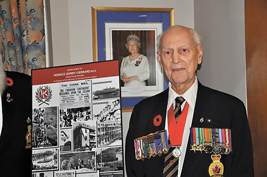 Battle Of Hong Kong Survivor Signaler Retired Horace Gerry Gerrard 95