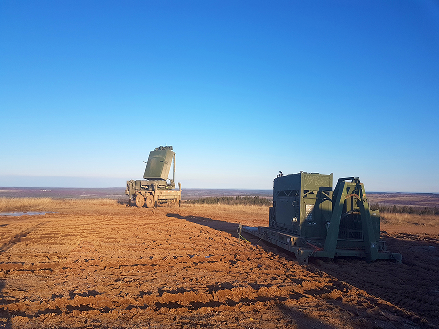 The Medium Range Radar (MRR) system