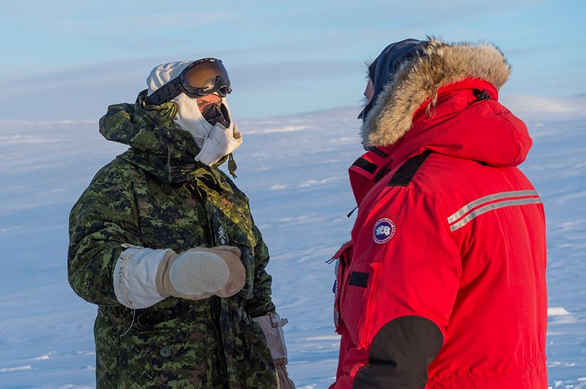 Article Respect The Arctic Environment Major General Simon