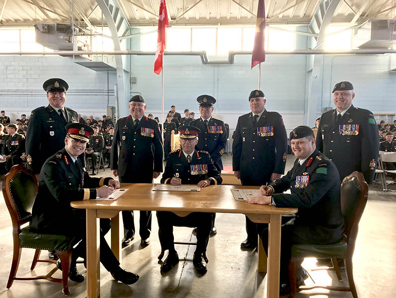 Transfer of Command certificate signing