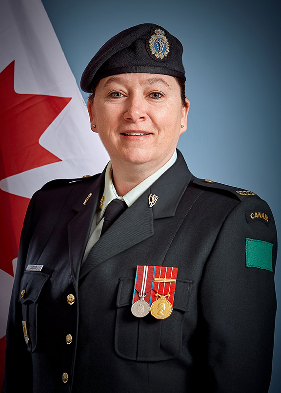 Chief Warrant Officer Tracy-Ann Fisher