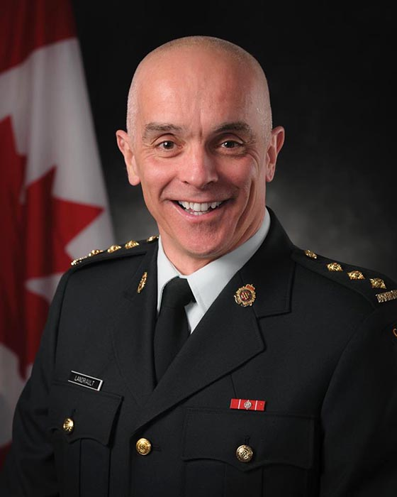 Formal portrait of Captain Robert Landriault, a competitive swimmer for over 40 years with more than a dozen Canadian Armed Forces records to his name, along with five international civilian titles. Capt Landriault says being a soldier feeds his desire to win. Photo: Corporal Lisa Fenton, 8 Wing Imaging. ©2016 DND/MDN Canada.
