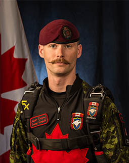 Master Corporal Jeremy Canfield - Quarter Master