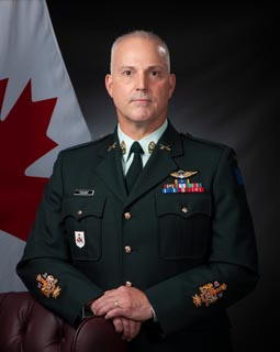 Sergeant Major - Chief Warrant Officer J.Y.E. Poissant