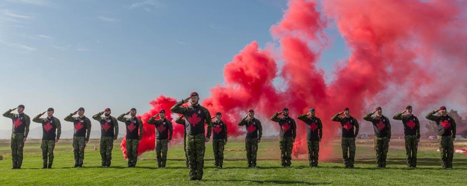 The SkyHawks: Canadian Armed Forces Parachute Team