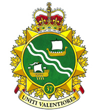 37 Canadian Brigade Group crest