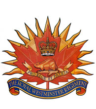 The Royal Westminster Regiment Badge